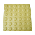 Ceramic warning - and guide pavings - yellow