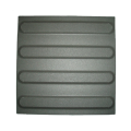 Guiding ceramic pavings - black