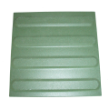Guiding ceramic pavings - green