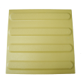Guiding ceramic pavings - yellow