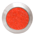 Rotes Polymer